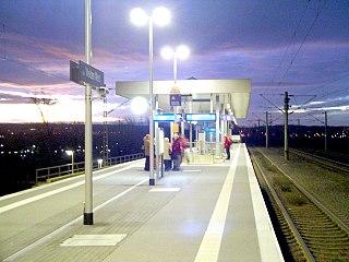 Köln-Weiden West station Railway station in Cologne