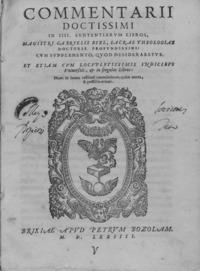 Biel - Commentarii doctissimi in 4. Sententiarum libros, 1574 - 4574423.tif