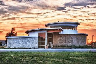 Greensburg, Kansas - Image: Big Well Museum