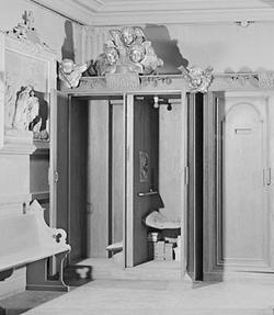 Bildresultat för biktstol