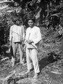 Bild 1 och bild 2 Indianerna Belisario och Andronico, den senare med pil och båge - SMVK - 004255.tif