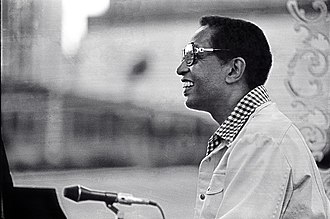 Billy Taylor - Billy Taylor performing a Jazzmobile concert 1977