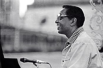 Billy Taylor Jazzmobile concert 1977