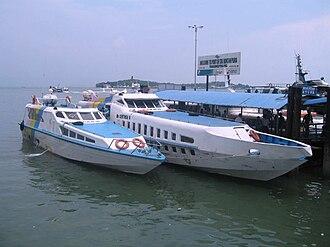 Bintan Island - Bintan ferry terminal