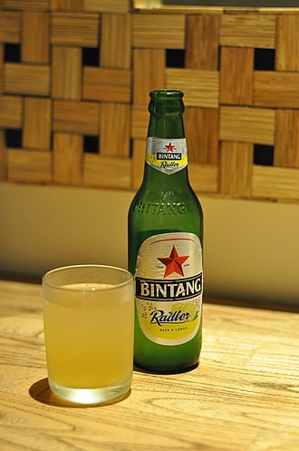 Bintang Beer - Radler edition of Bintang