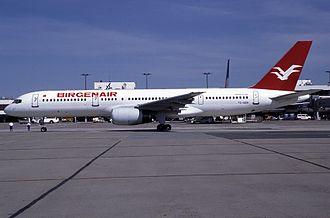 Birgenair Flight 301 - Image: Birgenair tcgen