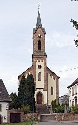 Birkenhördt katholische Kirche St. Gallus 20140328