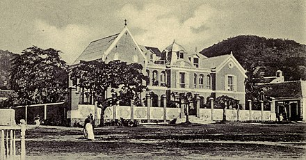 Bishop's House in Cap-Haitien, 1907 Bishop's House, Cap-Haitien - Haiti, her history and her detractors.jpg
