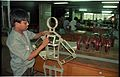 Biswajit Hazra Making Science City Exhibit - NCSM - Calcutta 1994-10-22 101.JPG