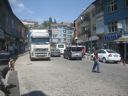 A view from Bitlis city center. Bitlis city center.jpg