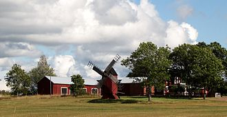 Jomala - Windmill in Björsby
