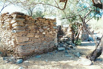 Jack Swilling - Ruins of the Swilling residence in Black Canyon City.