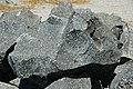 Black porphyritic dacite (upper Holocene, 14 May 1915; Devastated Area, Lassen Volcano National Park, California, USA) 11.jpg