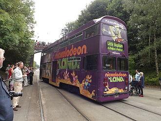 """Double-decker tram - Blackpool """"Jubilee"""" Class No. 762, the last double-deck tram built in the UK"""