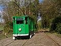 Blackpool Railgrinder at Heaton Park Tramway (geograph 4452470).jpg