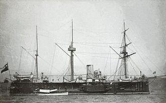 Battle of Caldera Bay - Blanco Encalada in 1879