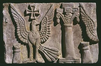 Nobatia - Early 7th century frieze fragment of the Faras cathedral.