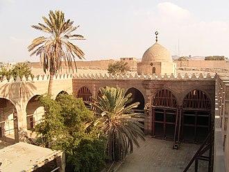 Aqsunqur Mosque - Courtyard or sahn