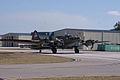 Boeing B-17G-85-DL Flying Fortress Nine-O-Nine Landing Taxi 11 CFatKAM 09Feb2011 (14797321068).jpg