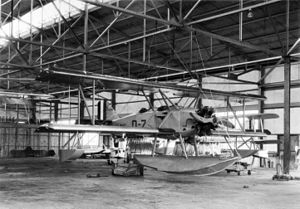Boeing NB - An NB-1 floatplane at the National Advisory Committee for Aeronautics, in 1926.