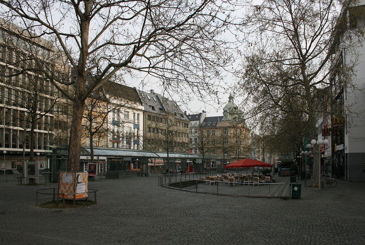friedensplatz bonn wikipedia