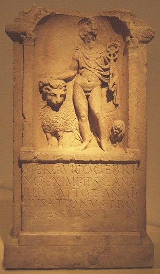 Gebrinius - Altar of Mercurius Gebrinius, Bonn
