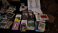 BookSwapping at Wikimania 2018 20180722 151806 (21).jpg