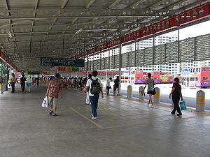 Boon Lay Bus Interchange, Nov 06.JPG