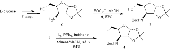 Boonsong Kongkathip et al. synthesis of Tamiflu from d-glucose - part 1.png