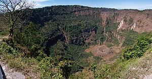 San Salvador (volcano) - Image: Boquerón crater