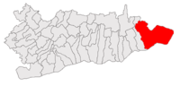 Location of Borcea