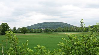 Gunzgen - Mt. Born with Gunzgen at the base