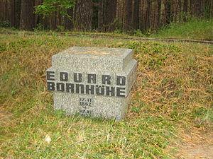 Eduard Bornhöhe - Image: Bornhöhe haud