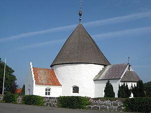 Ny Kirke - Image: Bornholm Ny Kirke 1