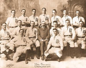 1899 Boston Beaneaters season - Team photograph