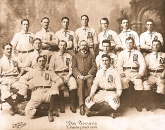 1899 Boston Beaneaters season - Team photograph