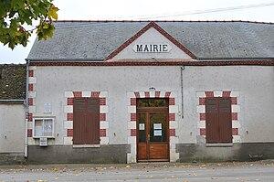 Bouilly-en-Gâtinais - The town hall in Bouilly-en-Gâtinais