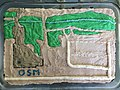 Image of cake with OSM map of Boulder Public Library as icing