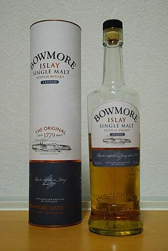Bowmore distillery - Bowmore Legend