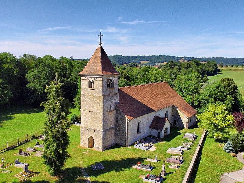 Église de la Nativité-de-la-Vierge de Leugney
