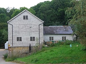 Medway watermills (upper tributaries) - Bradley's Mill, August 2009
