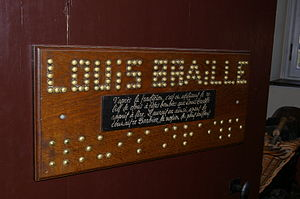House of Louis BRAILLE