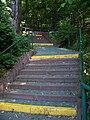 Braník, Stará cesta, schodiště (01).jpg