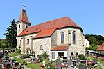 Catholic parish church hl.  John the Baptist and Cemetery