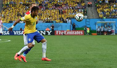 Brazil and Croatia match at the FIFA World Cup 2014-06-12 (11).jpg