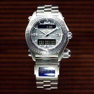 Breitling SA - Breitling Emergency wristwatch.