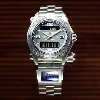 Breitling SA - Breitling Emergency wristwatch.