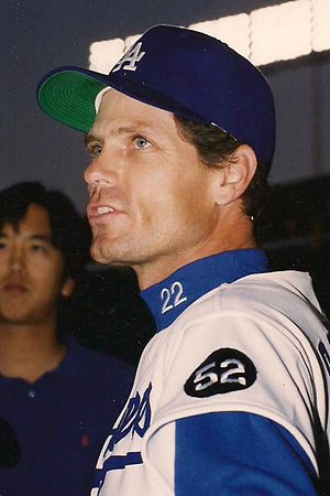 Brett Butler (baseball) - Butler with the Dodgers on April 14, 1993