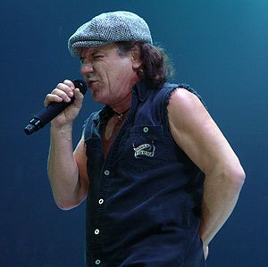 AC/DC - Brian Johnson live with AC/DC in 2008
