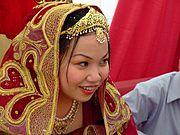 Bride at Nikah